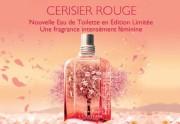 Cerisier Rouge, la nouvelle fragrance de L'Occitane