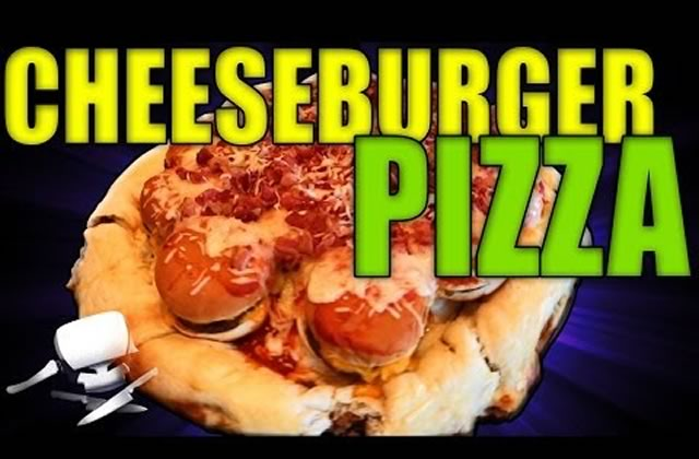 Le Cheeseburger Pizza, par Epic Meal Time