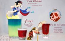 Des cocktails inspirés des personnages de Disney