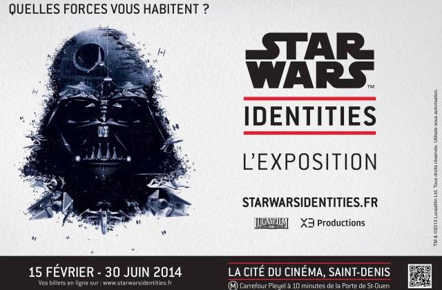 5×2 places à gagner pour l'exposition Star Wars Identities !