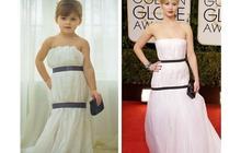 Une enfant de 4 ans et sa mère recréent des tenues célèbres en papier