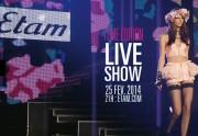 Le live show d'Etam revient ce soir !