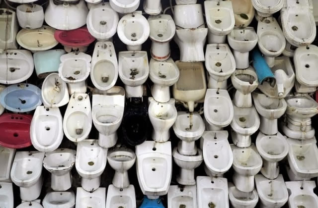 La fontaine toilettes, magnificence de l'architecture chinoise