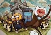 Lien permanent vers Adventure Timey-Wimey : la fresque d'un papa à sa fille