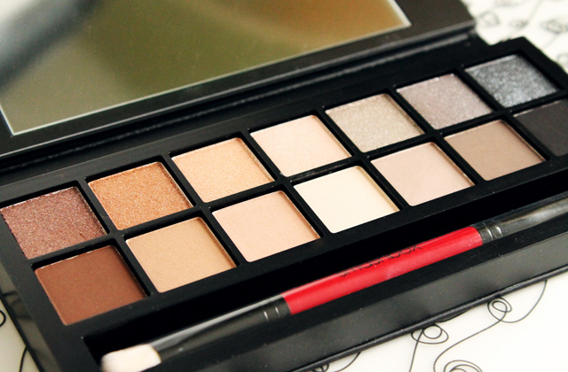 Full Exposure, la palette de fards neutres de Smashbox