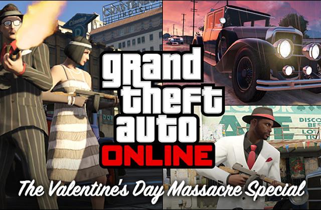 GTA V et le pack gratuit spécial St Valentin