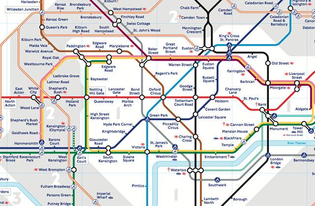 Le métro de Londres, cette entité fascinante