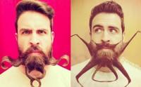 Mr. Incredibeard et ses sculptures sur barbe totalement WTF
