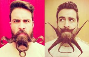 Lien permanent vers Mr. Incredibeard et ses sculptures sur barbe totalement WTF