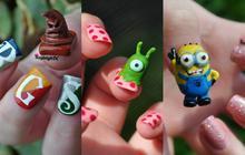 Kayleigh O'Connor et ses nail-arts pop culture totalement fous