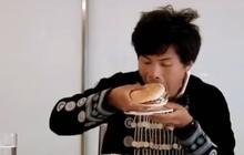 Ils mangent un burger pour la première fois