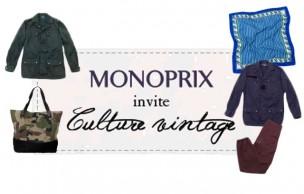 Lien permanent vers Monoprix lance sa première collection vintage