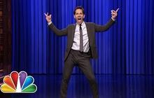 Paul Rudd fait du play-back chez Fallon