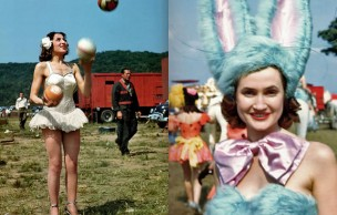 Lien permanent vers Des photos de cirque des années 50 colorisées