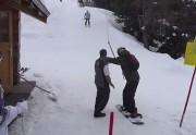 Lien permanent vers Le snowboarder maladroit et le tire-fesse : le meilleur fail du monde