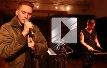 Thomas Azier interprète «Angelene » en Session Électro