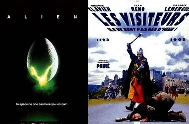 Les Visiteurs x Alien : le mashup improbable