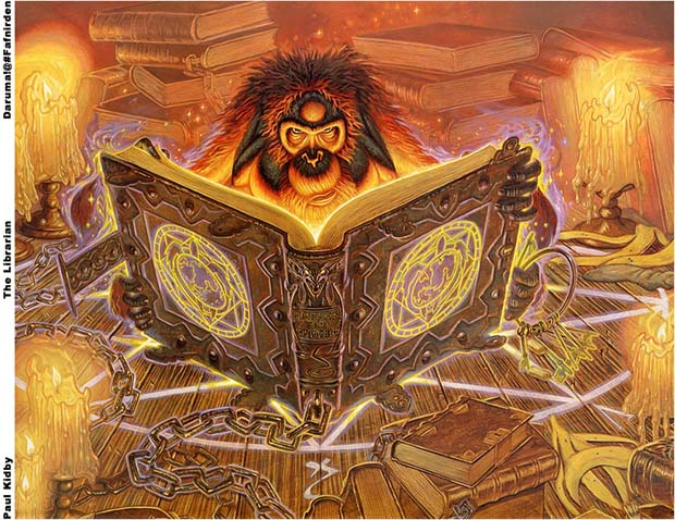 Le bibliothécaire - Paul Kidby