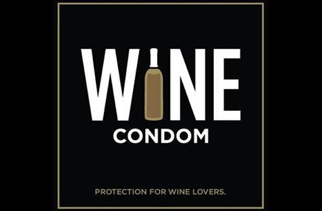 Wine Condom, le préservatif à vin