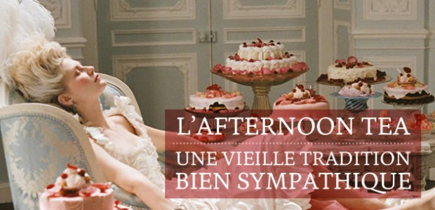 L'Afternoon Tea, une vieille tradition bien sympathique