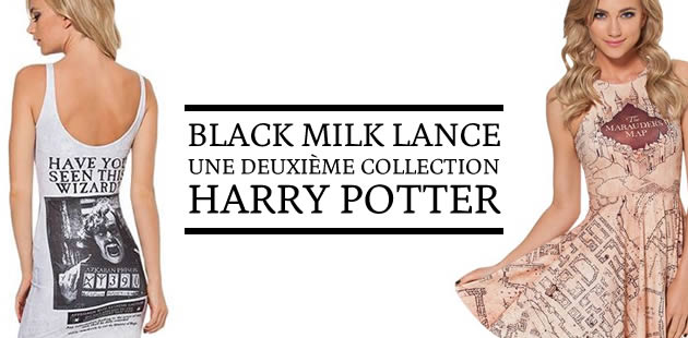 Black Milk lance une deuxième collection Harry Potter !