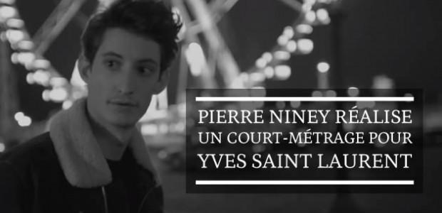 Pierre Niney réalise un court-métrage pour Yves Saint Laurent