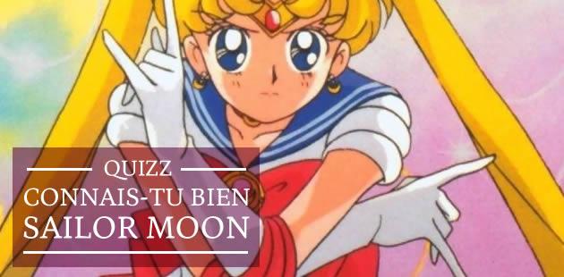 Quizz — Connais-tu bien Sailor Moon ?