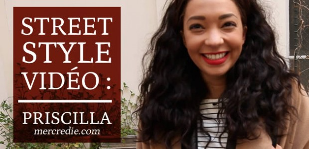 Priscilla (Mercredie) en Street Style !