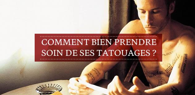 Comment bien prendre soin de ses tatouages ?