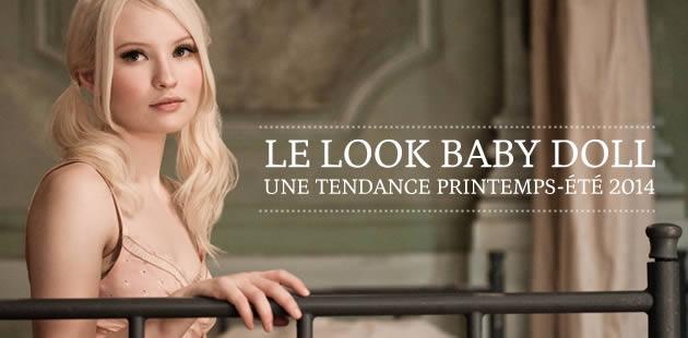 Le look Baby Doll, une tendance printemps-été 2014