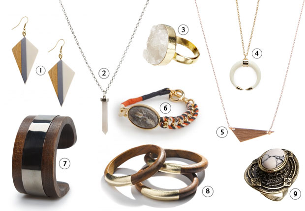 Les bijoux de la tendance hippie chic # Bijoux En Bois Pour Femme