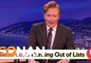 Lien permanent vers Conan O'Brien tacle Buzzfeed et ses fameuses listes