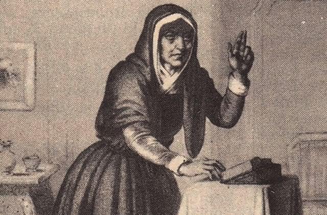 Catherine Théot, Mère de Dieu et pote de Robespierre