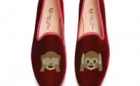 Des chaussons avec des emojis brodés — WTF Mode