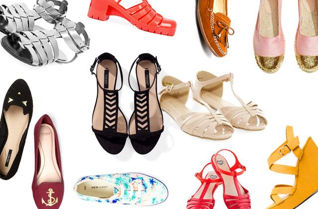 Les chaussures du printemps-été à moins de 35 euros