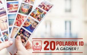 Lien permanent vers 20 Polabox ID à gagner pour imprimer tes photos façon Photomaton !