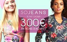 Concours Sojeans — 300€ de bons d'achat à gagner !