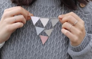 Lien permanent vers DIY — Le collier à triangles