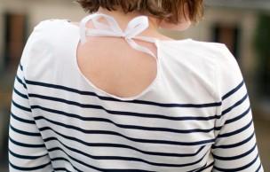Lien permanent vers DIY — La marinière façon «goutte dans le dos »