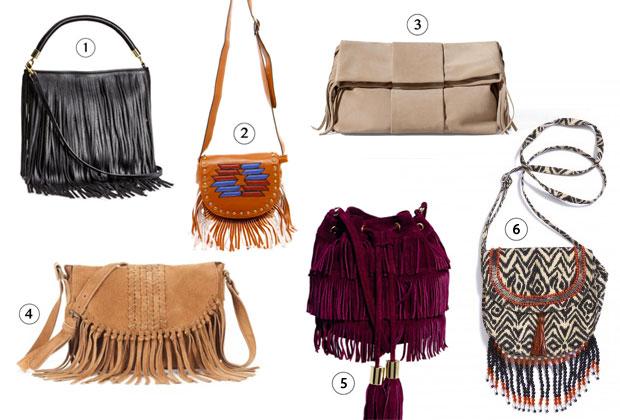 2c8d6a151b 1) Cabas à franges H&M (24,95€), 2) sac bandoulière ethnique Boohoo  (12,00€), 3) sac enveloppes Zara (79,95€), 4) pochette tressée Soft Grey  (79,99€), ...
