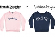 French Disorder et Pénélope Bagieu lancent une mini collection de sweats