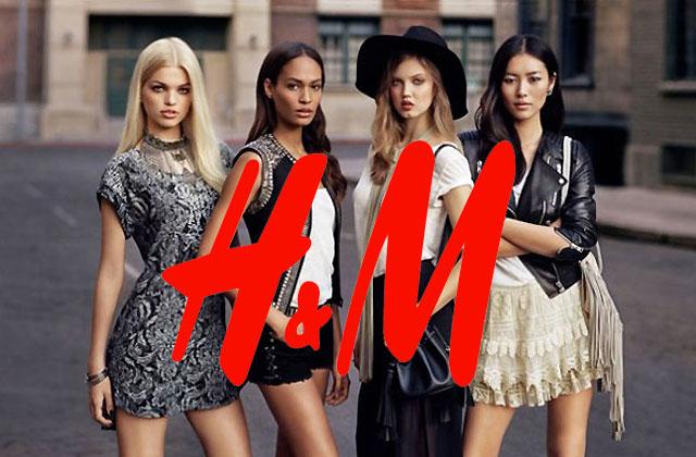 H&M lance son e-shop français !