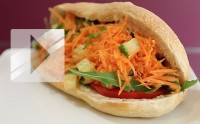 Le Kebbie, kebab végétarien — La recette en vidéo !