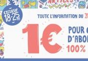 Lien permanent vers Le Monde version numérique à 1€ pour 6 mois pour les 18-25 ans