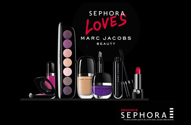 Marc Jacobs arrive chez Sephora !