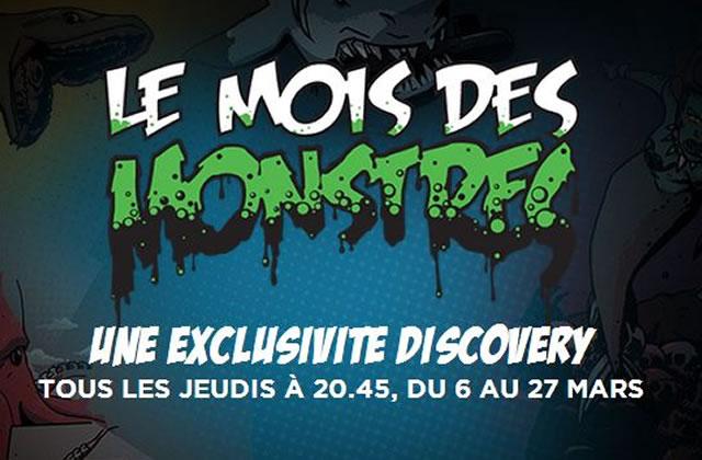 Le Mois des Monstres continue sur Discovery Channel