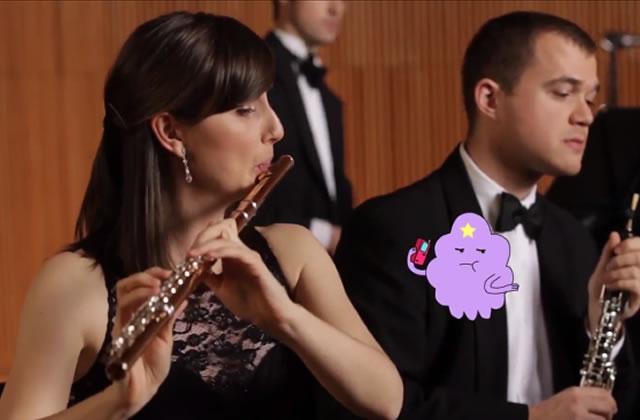Un orchestre reprend des génériques de dessins animés