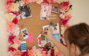 Lien permanent vers DIY — Un panneau en liège fleuri pour le printemps