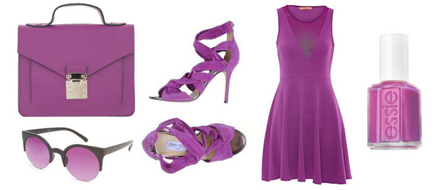 selection couleur radiant orchid printemps ete 2014