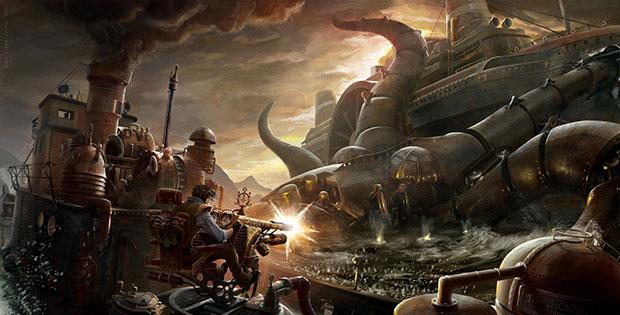 Le Steampunk Entre Fantasy Et Science Fiction